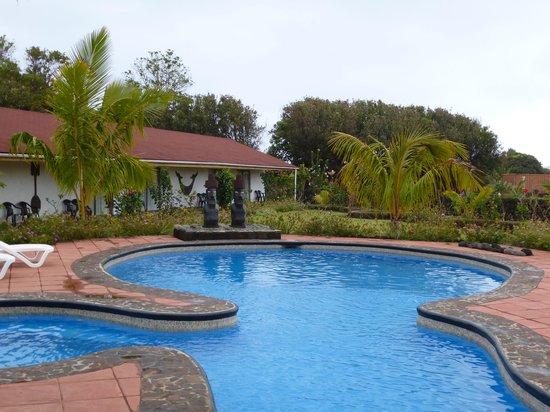 Pool at Hotel Puku Vai, Easter Island