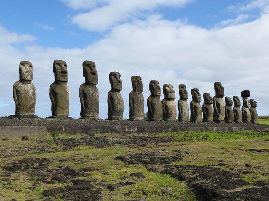 Hotel Puku Vai: The Moai at Easter Island