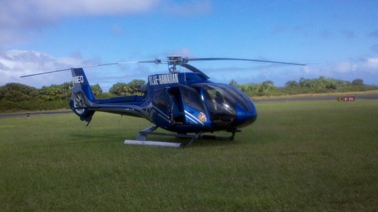 Blue Hawaiian Helicopter Tours - Maui: Our Helicopter