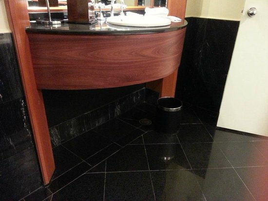 Sheraton on the Park, Sydney: Non-wheelchair sink area