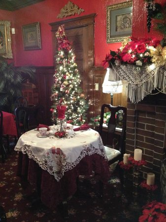 Victorian Christmas Decor Picture Of Abigail S Tea Room