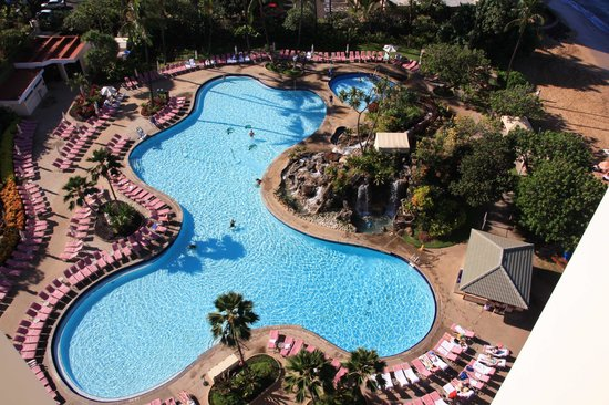 Ka'anapali Beach Club : View of Pool Area