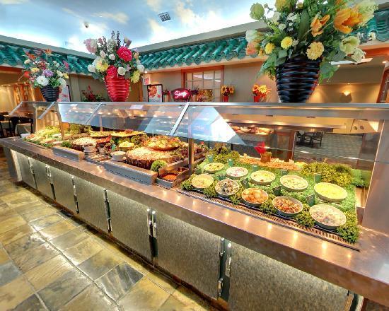 salad bar 2 picture of mandarin restaurant toronto. Black Bedroom Furniture Sets. Home Design Ideas