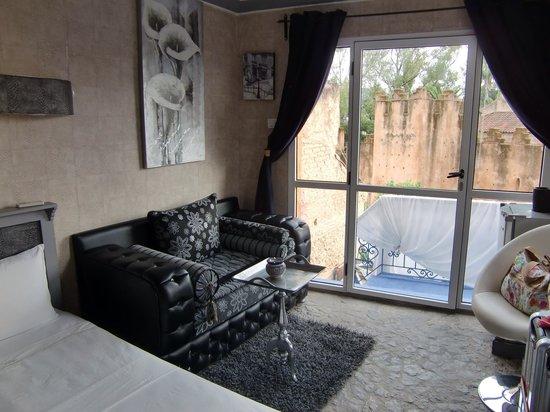 Hotel Hicham: お部屋。