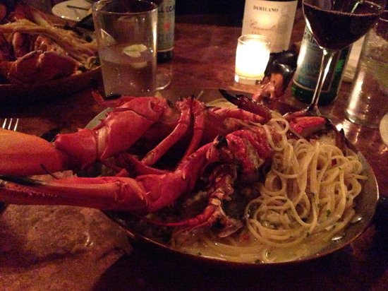 Street and Co.: Grilled Lobster linguini