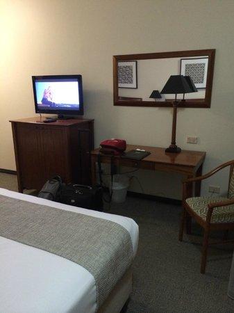 Brisbane International - Windsor: TV area