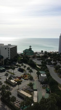 Sandestin Golf and Beach Resort: View of the Gulf from the top floor