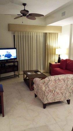 Sandestin Golf and Beach Resort: Living area looking nice