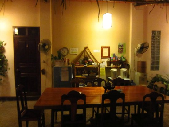Manichan Guesthouse : Chillout area