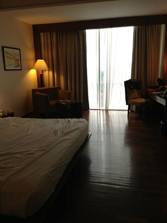 The Luxton Bandung : View of the King Bed Room