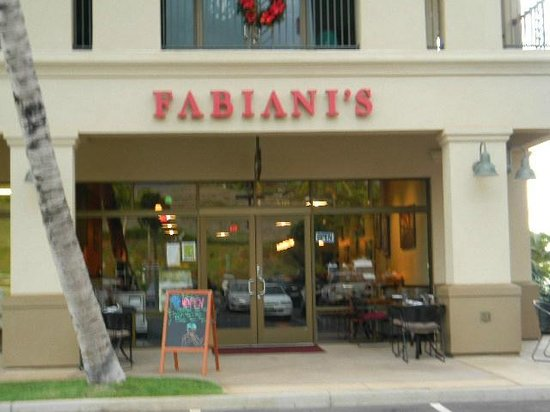 Fabiani's Wailea : Restaurant during the day