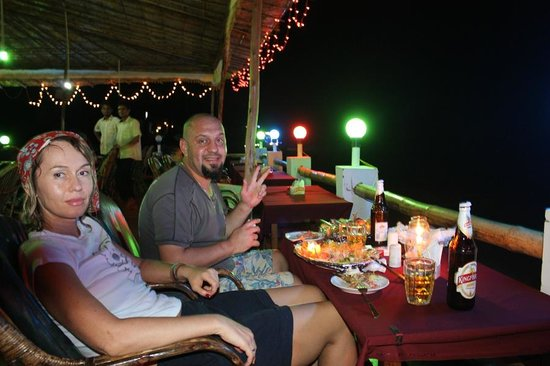 O'Saiba Beach Resort: Bar / Restaurant