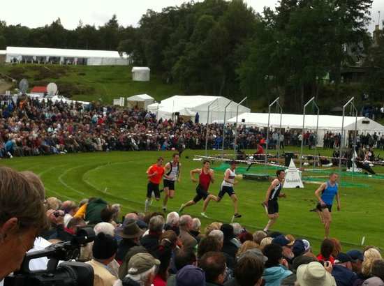 The Braemar Gathering: The armed forces relay