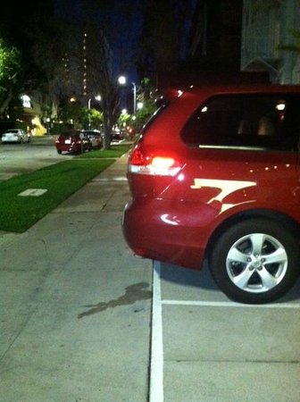 Royal Palace Westwood: Lack of Parking Spaces, Ticketed by City of Los Angeles