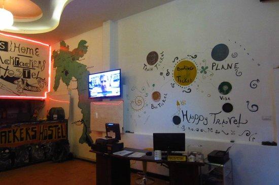 Dream Home Hostel 2: reception