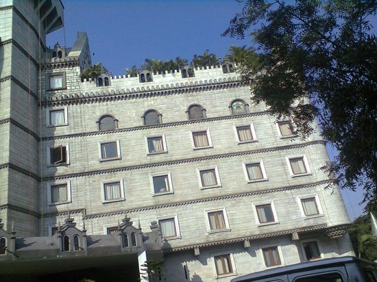 Amrutha castle outside