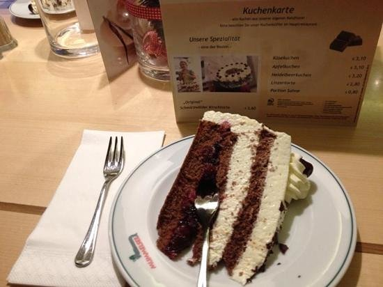 ETS Sightseeing Tours: traditional black forrest cake