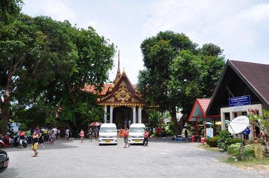 Wat Khunaram (Mummified Monk): Вход в храмовый комплекс