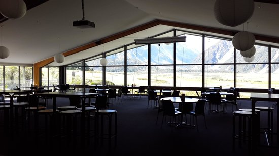 Mt Cook Lodge and Motels : the dining area view