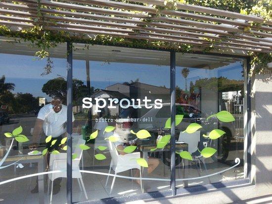Sprouts Bistro Winebar Deli : Sprouts Bistro shopfront