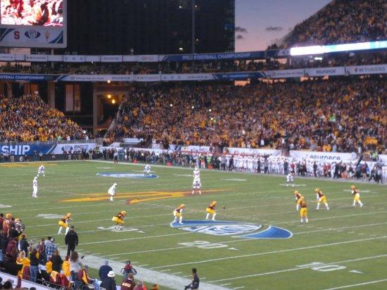 Sun Devil Stadium: Pac 12 championship
