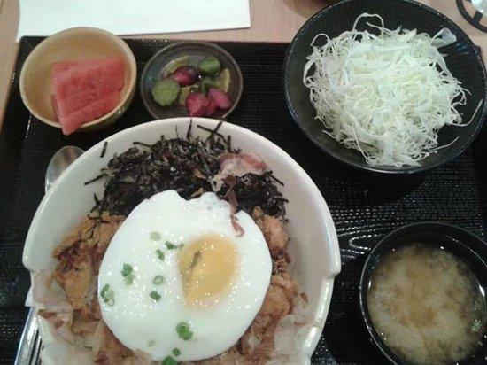 Yabu House of Katsu: set meal