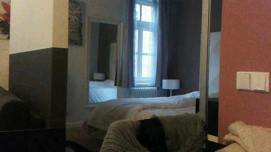 MH Apartments Central Prague: Bedroom area room 16 take from dining room