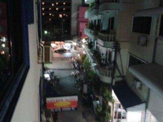 Kaew Kong Mansion: Zimmerausblick
