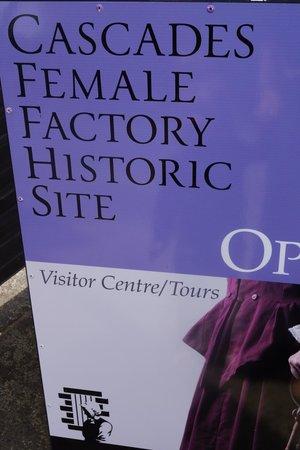 Cascades Female Factory Historic Site: Entrance