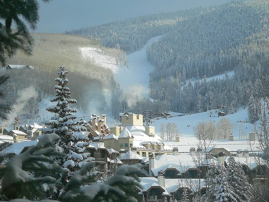 Beaver Creek Lodge: View from our window