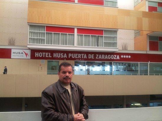Hotel Eurostars Zaragoza: amazing view