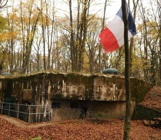 Casemates du Huberbusch - 164e RIF (Ligne Maginot)