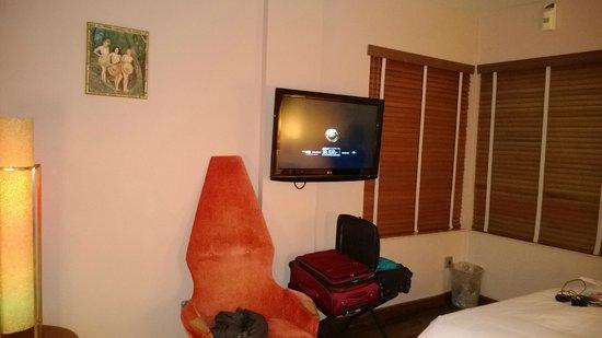 Pelican Hotel : Big TV