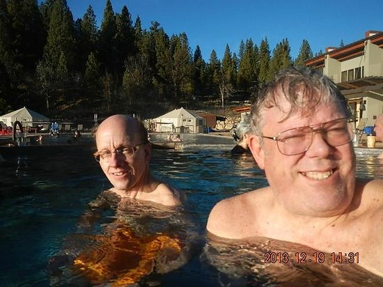"""""""The Springs"""", SR-21, Idaho City ID Pool (85F to 99F), Dave Cromwell & Donald Larson from Seattl"""