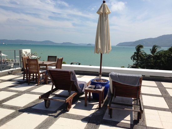 Serenity Resort & Residences Phuket: Our roof terrace