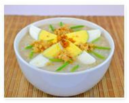 Pansit Malabon by Country Noodles: arroz caldo