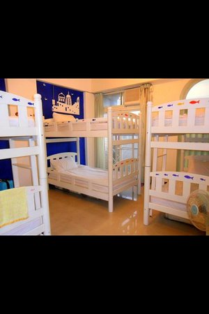 Colorful Taiwan Hostel: 6 Bed Dorm