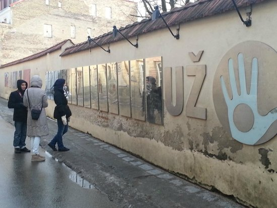 Uzupis: Конституция Ужуписа