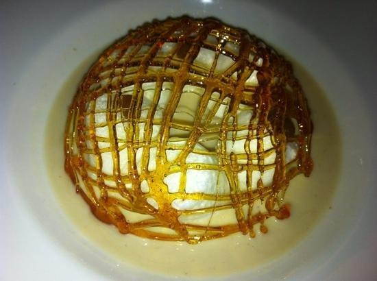 """Le Séjour Café : magnifique """"ile flottante crème anglaise aux marrons"""""""