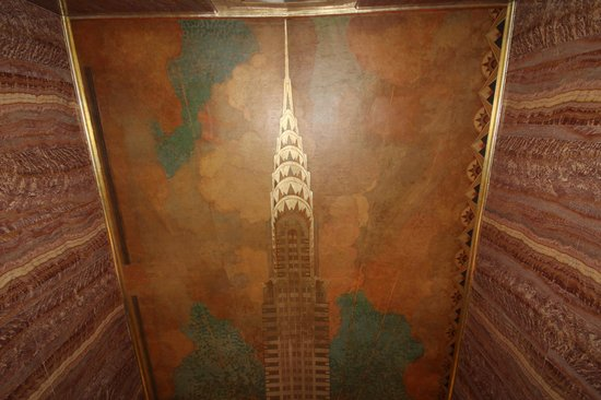 Chrysler Building: The ceiling