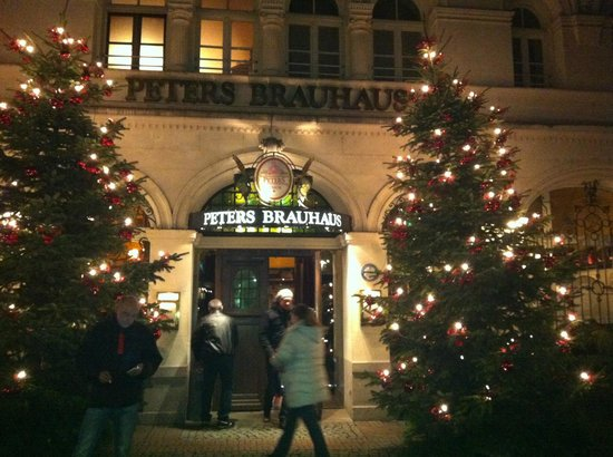 Peters Brauhaus: Good location