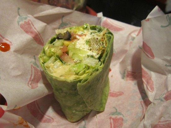 Big Wrap : Yummy, yummy, yummy greek wrap!
