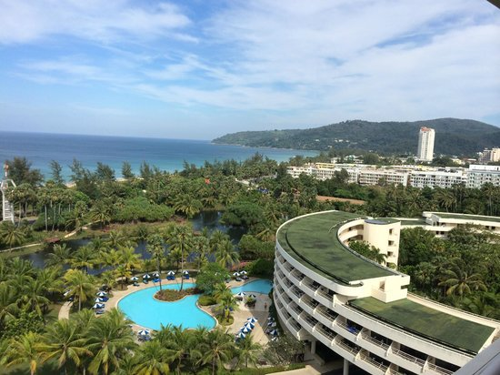 Hilton Phuket Arcadia Resort & Spa: View from Panorama lounge