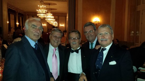 The Westin Excelsior, Rome: Cena di Gala dell'A.D.A. Lazio