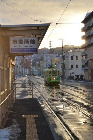 Hakodate Kokusai Hotel: Closest Tram Station