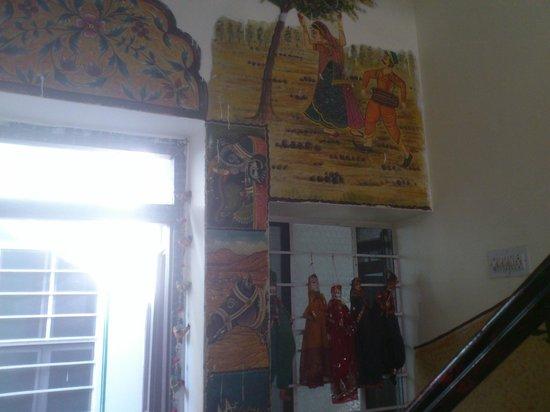 Vinayak Guesthouse: the stairway