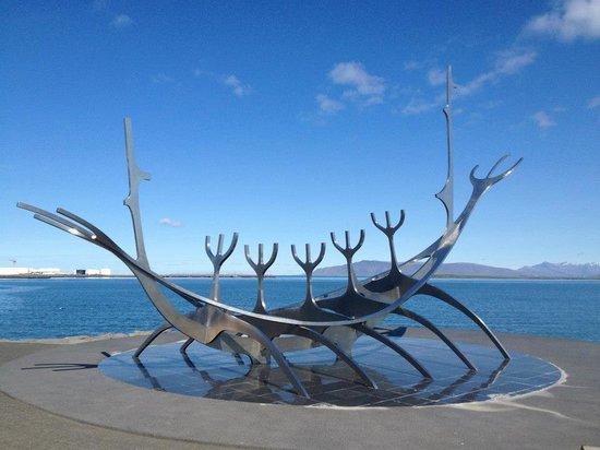 Solfar (Sun Voyager) Sculpture : Solfar