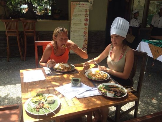 Alam KulKul Boutique Resort: Cooking class