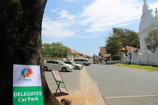Galle Fort : Прогулка по форту