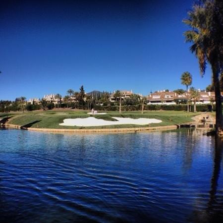 Real Club de Golf Las Brisas: Green #1